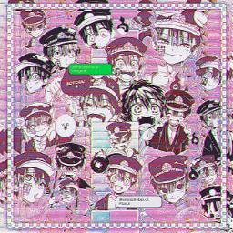 tsukasayugi yugiamane toiletboundhanakokun jibakushounenhanakokun toiletboundhanakokunedit jibakushounenhanakokunedit edit aesthetic pink glitchy anime manga complexedit complex follow weeb simp