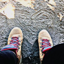 bootselfie heart lookdown hikelife caligirl hikingadventures nature dirt seeme mood love mymind myeye bchez photography edit