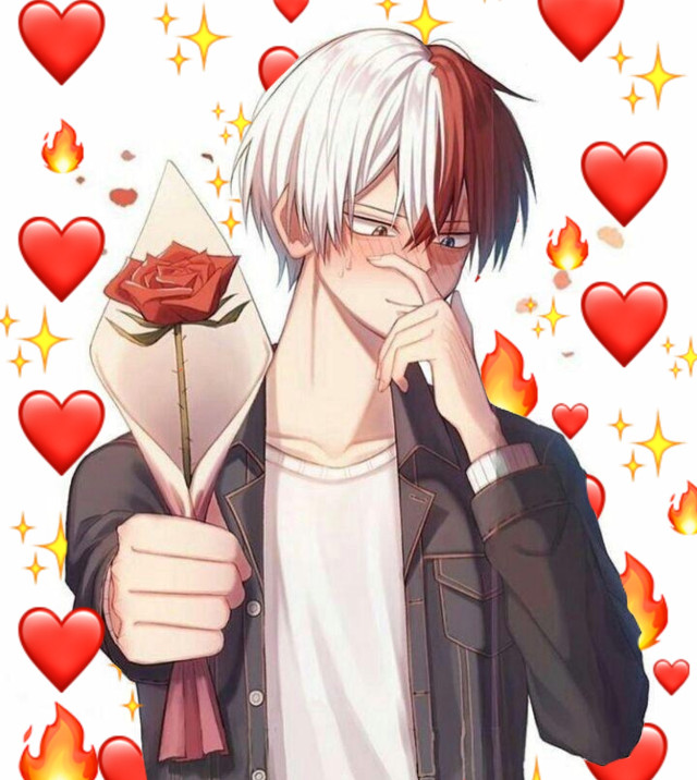 #todoroki #Shoto #todorokishoto #shototodoroki #mha #bnha #myheroacademia #bokunoheroacademia #Todo #Anime #animeboy #animemann #animemale #animeedit #boy #mann #female #edit #backround #Emoji #Emojibackround #roses #blush #blushed #freetoedit