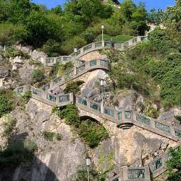 freetoedit slovenia stairs mountain