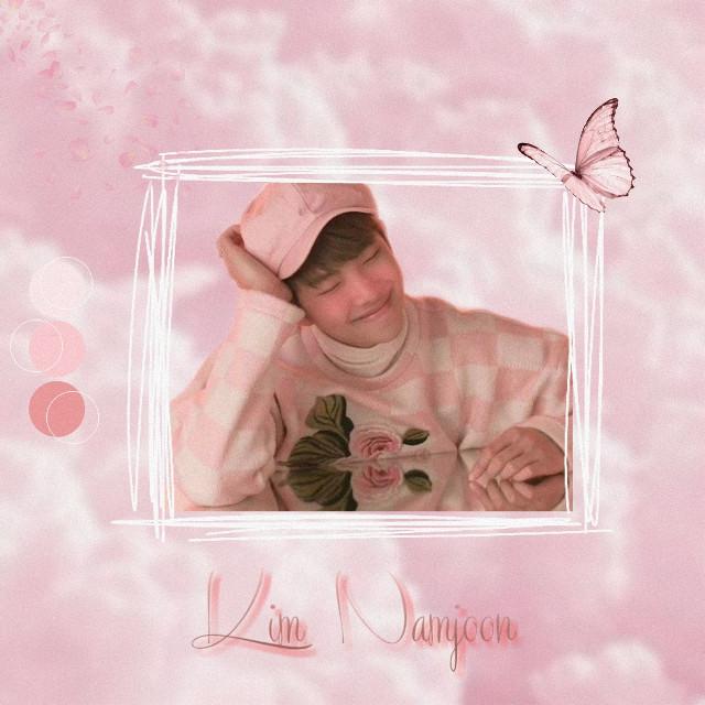 #rm #kimnamjoon #namjoon #bts #btsedit #namjoonedit #rmedit #pink #aesthetic #pinkaesthetic #cute #cuteboy #bighit #butterfly #clouds #kpop #boyband  #firstedits #noob #noobedit #beginner