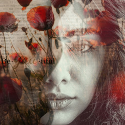 freetoedit beyourself beyou selflove sétumismo cover face floral tulips orange unsplash