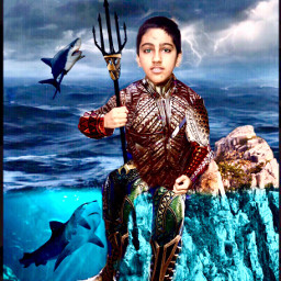 aquaman samriddhagaire fish thunder london bermuda suit strange peak trisul water