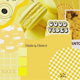yellow aesthetic vintage background wallpaper bright sun flower freetoedit