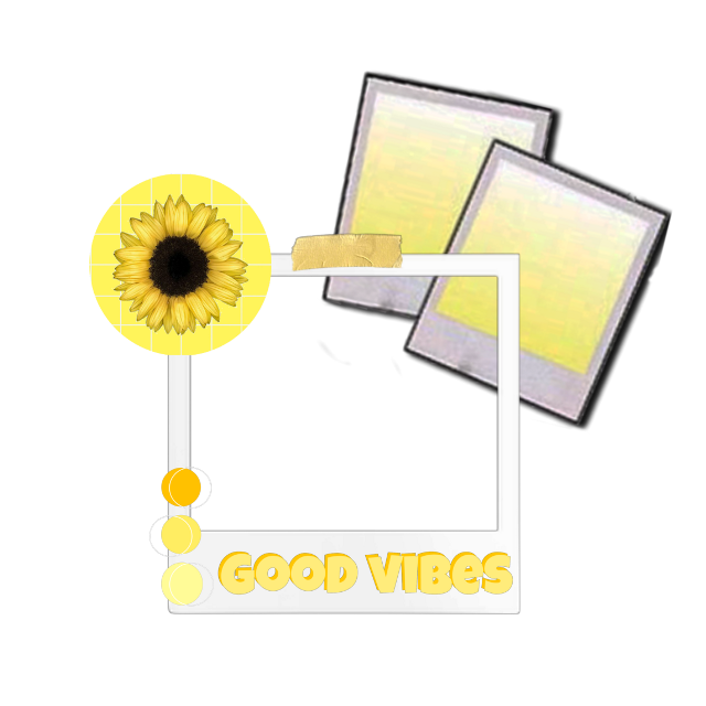 #overlay #frame #edit #aesthetic  #yellow #sunflower  #goodvibes #freetoedit