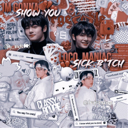 hyunjin jeongin straykids red white aesthetic kpop kpopedit kpopaesthetic complex freetoedit
