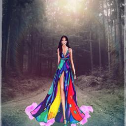 freetoedit artwork rainbow