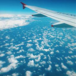 freetoedit plane flight avion vuelo cielo sky cloud nube nubes clouds cloudysky ala bluesky cieloazul simple photography travel