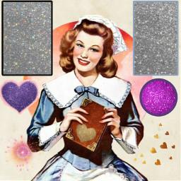 freetoedit woman nurse glittershapes bordersonshapes hearts madewithpicsart glitteroverlayremixchallenge srcglitteroverlay glitteroverlay