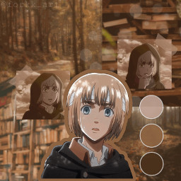 freetoedit armin arminarlert aot attackontitan anime