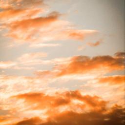 freetoedit sky clouds heaven backround sunset horizon