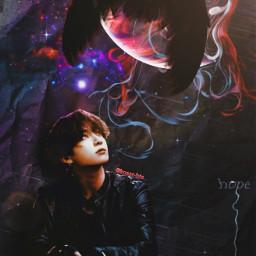 bts jungkook replay freetoedit sky dark mystery picsart papicks boy kookie kook