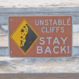 freetoedit remixit beach sign warning