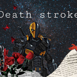 deathstroke deathstrokearrow dccomics villains freetoedit