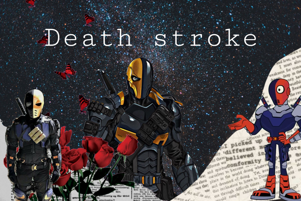 #deathstroke #deathstrokearrow #dccomics #villains  #freetoedit