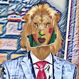 freetoedit leon magiceffects pintura paint ecmyanimalalterego