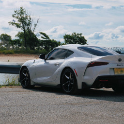 car automobile myphoto sportscar whitecar bay coastline freetoedit