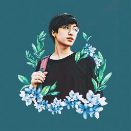 freetoedit collage flower kpop 花 花コラージュ