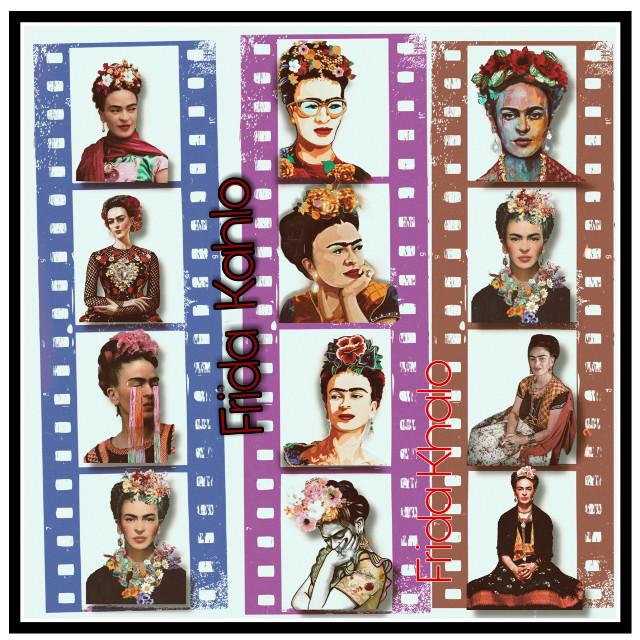 🌟 Lovely art of #frida #fridaKahlo #unibrow_queen 😁👍 Danke dir. @svetlichok8 💓🖌️🎨 Schöne Arbeit lieber Freund. #freetoedit