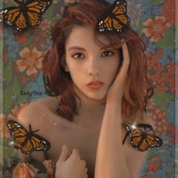 pattern replayedit flowers heypicsart madewithpicsart flowerpattern freetoedit butterflies sticker filters masks myedit