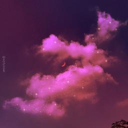 sky skies myphotography myclik myedit skybyizzah editbyizzah cloud clouds star stars moon aesthetic aestheticfeed quotes noxazure ponselakiva purple purpleaesthetic love quoteslove aesthetics violet sunrise violetaesthetic