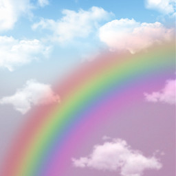 freetoedit background backgrounds raimbow sky cloud araceliss makeawesome