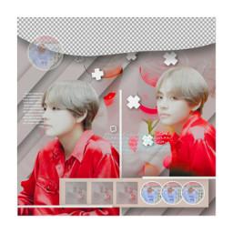 btsedit taehyungedit kpop dark tae edit bts taetae v kimtaehyung aesthetic red elegant cool amazing spreadpositivity handsome stunning rededit