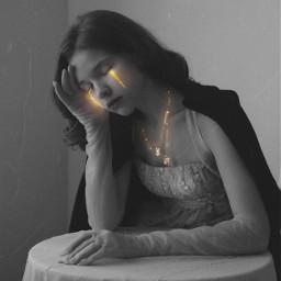 2 staygold gold interesting girl shine picsart myedit newedit freetoedit