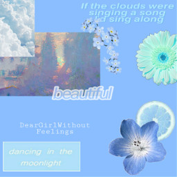 blueaesthetic freetoedit