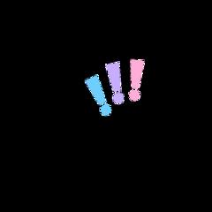 freetoedit exclamationpoint cute pastel fairycore animecore aesthetic soft softcore softaesthetic doodle drawing vector messy kidcore cottagecore y2k