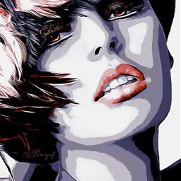 freetoedit girl cara mujerbonita colorful art artdigital woman @chuliluna19