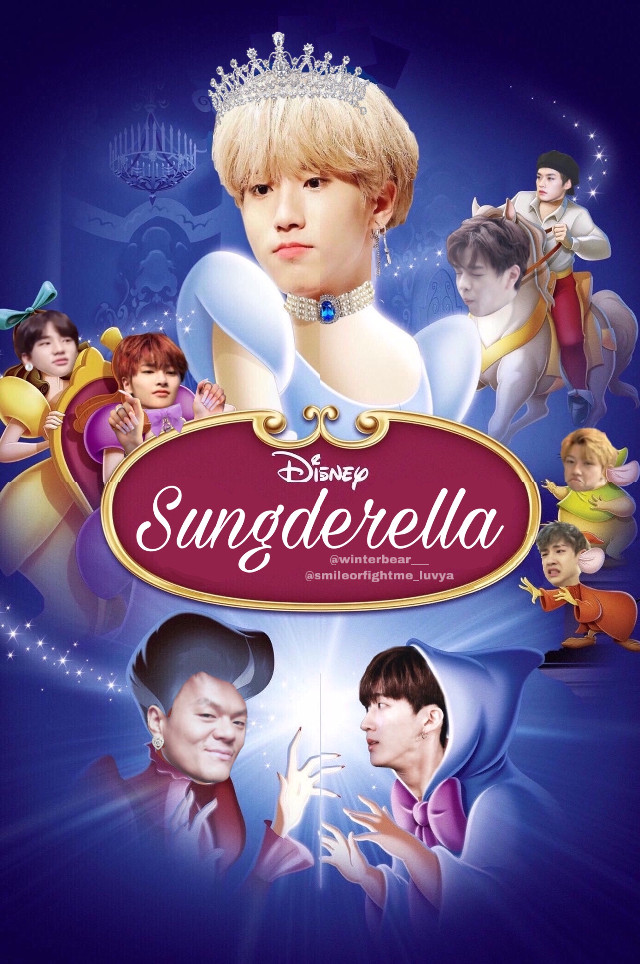 🎨SUNGDERELLA🎨 StrayKids meme🔫 collaboration with @smileorfightme_luvya  ✨✨✨✨✨✨✨✨✨✨✨✨✨ Note:  Collaboration with one of the sweetest person in the world 💞🤡 Ily bitch)) ✨ ✨ ✨ ✨ Fun story: We were calling for hours while making this art piece lmao. There is a weird line in the middle «seperating» both halfs of the picture, and i don't know how the fuck that happened.  But anyways we're both fucking proud of ourselves because DAMN the members look hella good especially Jisung. Like look at that fucking princess holy shi- 💍👑 Jeongin are both her's and my favorite member of the edit. CuZ nAIlS🤟 #straykids #kpop #straykidsmeme #kpopmeme #skz #skzmeme #disneyedit #sungderella #minsung #minsungstraykids •••• #freetoedit