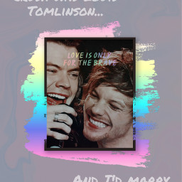 freetoedit larry larrystylinson larryshipper larrystylinsonisreal larryaf louistomlinson louis harrystyles harry onedirection 1d 1dday love loveislove🌈 lgbt lgbtq+ lgbtq+🌈 pride loveislove lgbtq