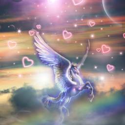 freetoedit myedit madewithpicsart editedbyme editedwithpicsart picsart surreal galaxy unicorn fantasy replay stepbystep fx dodger unsplash