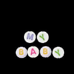 freetoedit babycore kidcore messycore cutecore beads text agere cglre
