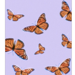 butterfly fly clouds cloud cloudy sky purple background backgrounds overlay overlays sticker tiktok orange polarr aesthetic edit vine videostar backgroundstickers moon wallpaper wallpaperedit black freetoedit