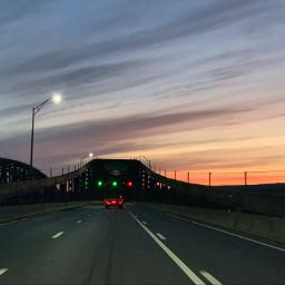 vibrant vibrantcolors sunset sky clouds sceneryphotography scenery freetoedit