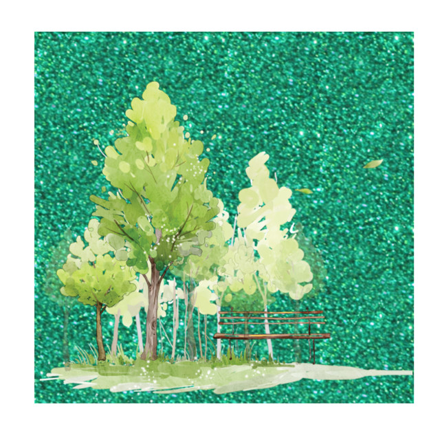 #trees #green #greentrees #background #greenbackground #freetoedit