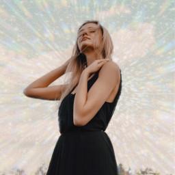 freetoedit sparkle glitter glitch vhs rainbow