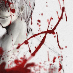 blood wallpaper wallpapers anime manga black white background backgrounds red bloody bloods smile psycho psychosmile psycho_smile anime_smile animesmile psychoanimesmile psycho_anime_smile freetoedit