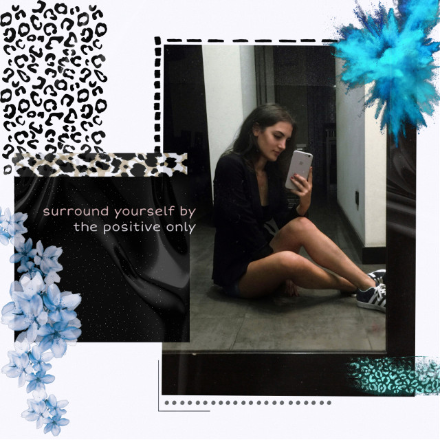 #replay #replayedit #replayit #remix #remixme #collage #collageartist #night #nightlife #mirror #mirrormirror #mirrorselfies #blue #flower #leopard #leopardprint #black #quotesandsayings #quotesoftheday #positive #positivequotes #positiveenergy #picsartedit #picsarteffects #art