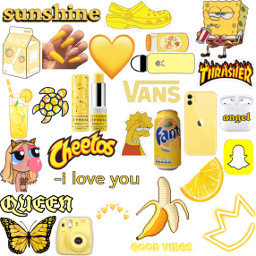 yellowaesthetic freetoedit