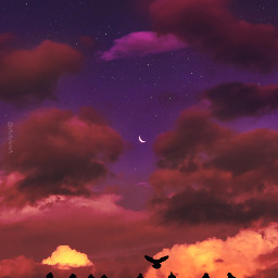 sky skies myphotography myclik myedit skybyizzah editbyizzah cloud clouds star stars moon aesthetic quotes noxazure society6 plum ponselakiva purple purpleaesthetic love quoteslove aesthetics violet sunrise