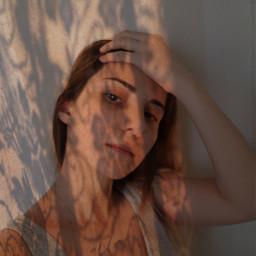 goldenhour shadow shadowmask lacemask sunset freetoedit