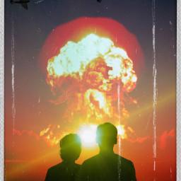 nagasaki bomb atomic nuclear 1945 japan atombomb freetoedit