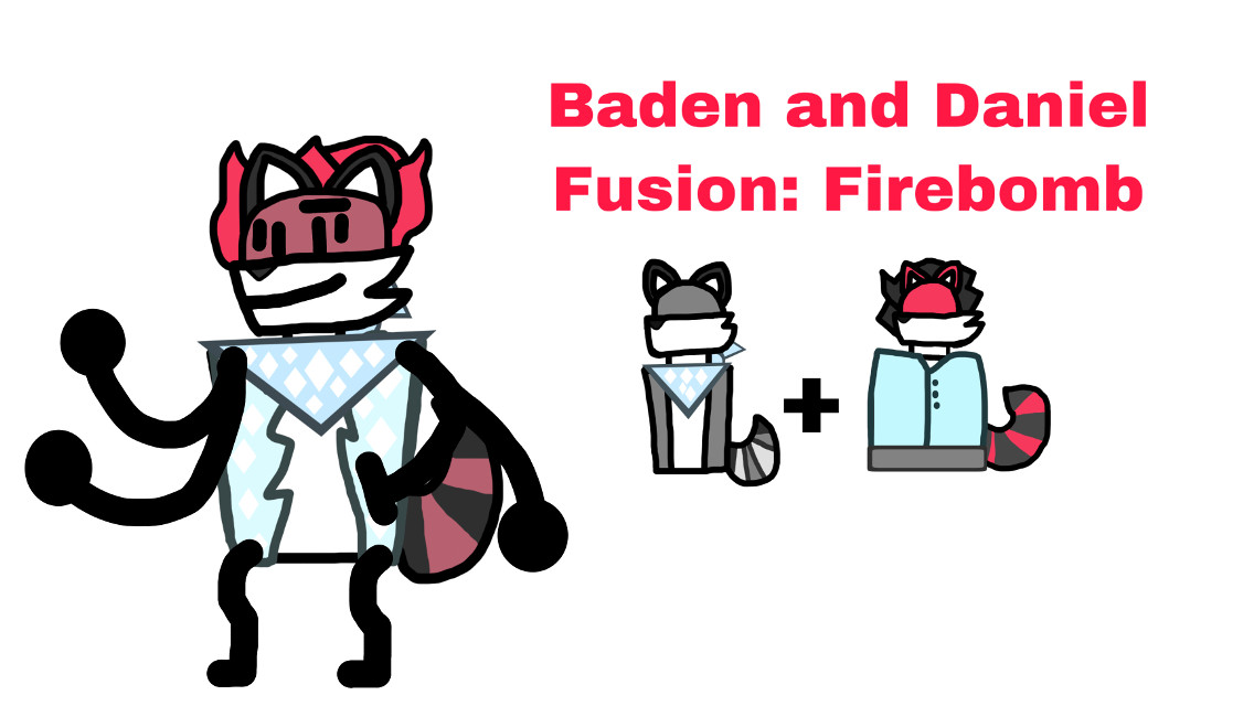 #bandana #coat #redpanda #racoon #maroon #red #black #ball #pooltoy #white #object #objectshow #fusion #freetoedit #objectshowfan2003sanimations