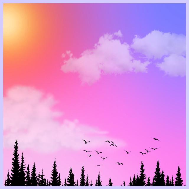 #cute #cool #beautiful #interesting #nature #art #travel #summer #sky  #pretty #amazing #birds #forest #awsome #purple #rainbow #sunset #красота #sunset #clouds #primarycolors #painting