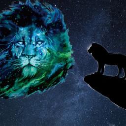 lion lionking thelionking disney spirit priderock lions africa simba mufasa freetoedit