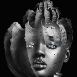 myedit undefined doubleexposure remixit blackandwhite surreal byme freetoedit