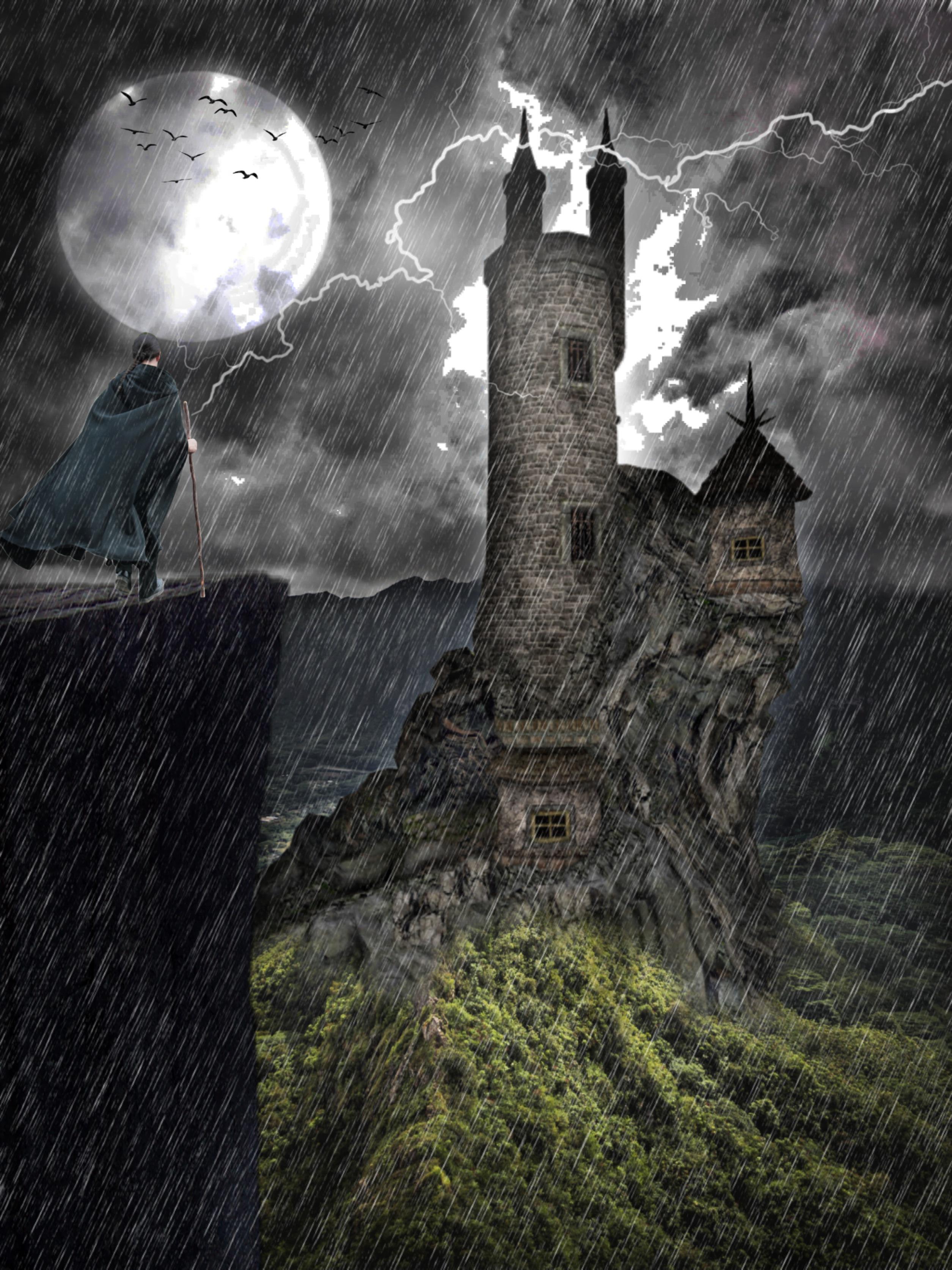 #freetoedit #myedit #madewithpicsart #editedbyme #editedwithpicsart #picsart #nature #landscape #flash #replay #moon